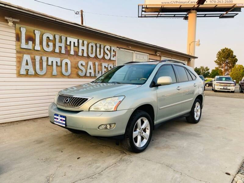2008 Lexus RX 350 for sale at Lighthouse Auto Sales LLC in Grand Junction CO