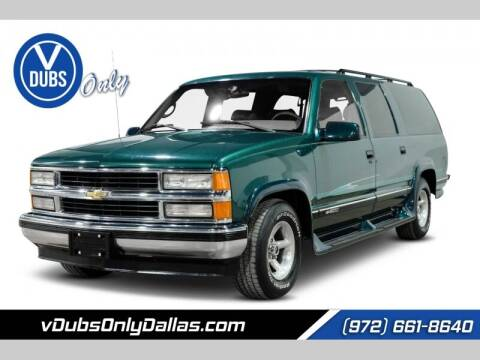 1996 Chevrolet Suburban for sale at VDUBS ONLY in Dallas TX