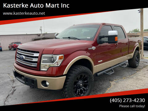 2014 Ford F-150 for sale at Kasterke Auto Mart Inc in Shawnee OK