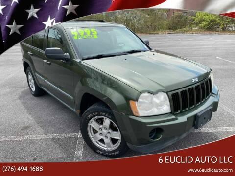 2007 Jeep Grand Cherokee for sale at 6 Euclid Auto LLC in Bristol VA