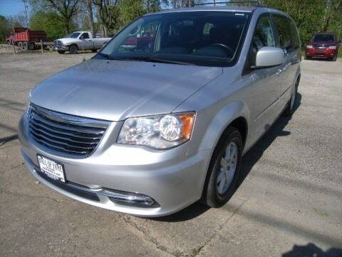 2011 Chrysler Town and Country for sale at HALL OF FAME MOTORS in Rittman OH