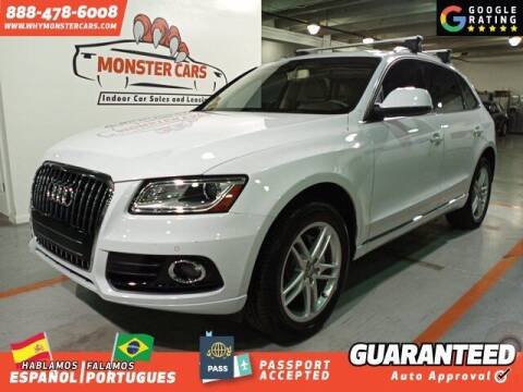 2014 Audi Q5 for sale at Monster Cars in Pompano Beach FL