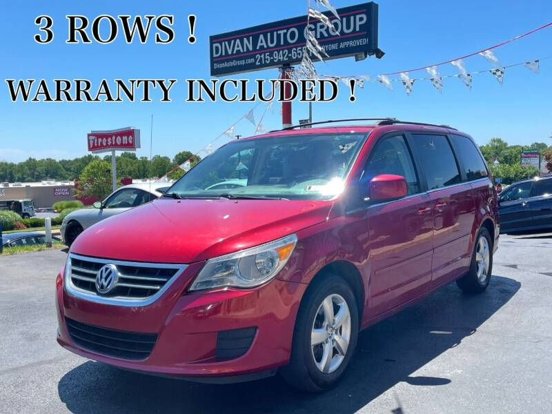 2009 Volkswagen Routan for sale at Divan Auto Group in Feasterville PA