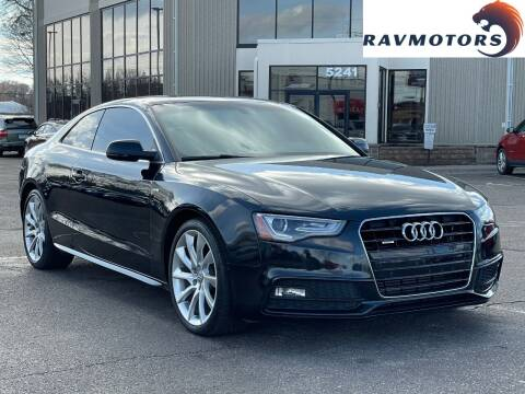2016 Audi A5 for sale at RAVMOTORS 2 in Crystal MN