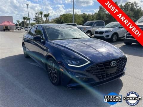 2020 Hyundai Sonata for sale at PHIL SMITH AUTOMOTIVE GROUP - Toyota Kia of Vero Beach in Vero Beach FL