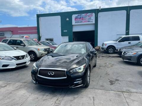 2017 Infiniti Q50 for sale at Dream Cars 4 U in Hollywood FL