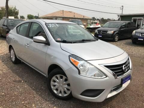 2017 Nissan Versa for sale at 3-B Auto Sales in Aurora CO