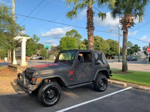 2001 Jeep Wrangler for sale at Asap Motors Inc in Fort Walton Beach FL