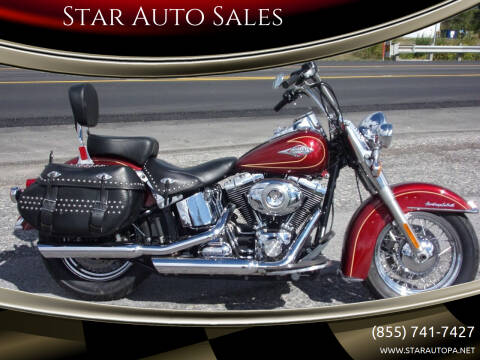 2010 Harley-Davidson Heritage Softail  for sale at Star Auto Sales in Fayetteville PA