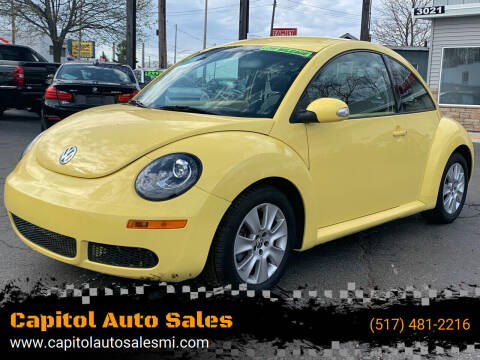 2010 Volkswagen New Beetle for sale at Capitol Auto Sales in Lansing MI