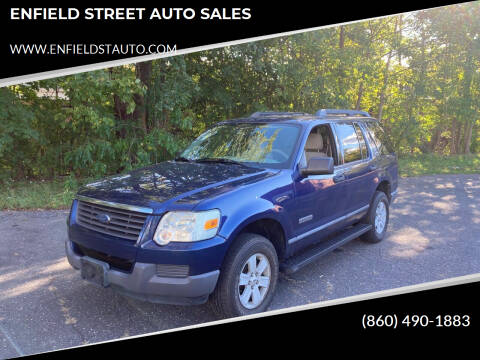 2006 Ford Explorer for sale at ENFIELD STREET AUTO SALES in Enfield CT