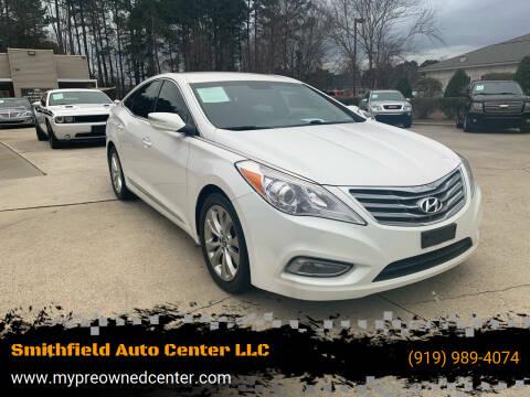 2014 Hyundai Azera for sale at Smithfield Auto Center LLC in Smithfield NC