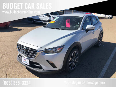2019 Mazda CX-3 for sale at BUDGET CAR SALES in Amarillo TX
