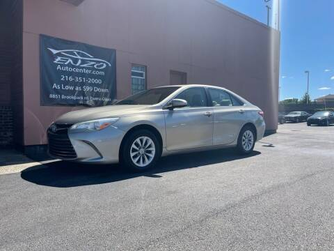 2015 Toyota Camry for sale at ENZO AUTO in Parma OH