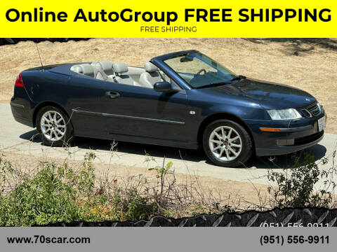 2004 Saab 9-3 for sale at Online AutoGroup FREE SHIPPING in Riverside CA