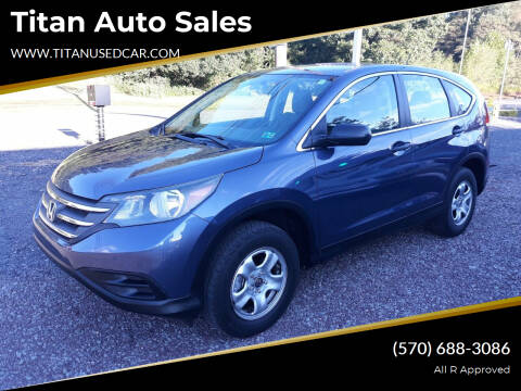 2014 Honda CR-V for sale at Titan Auto Sales in Berwick PA