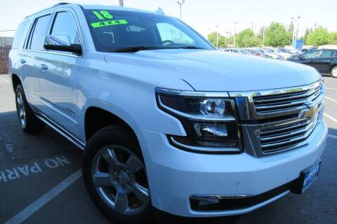 2018 Chevrolet Tahoe for sale at Choice Auto & Truck in Sacramento CA