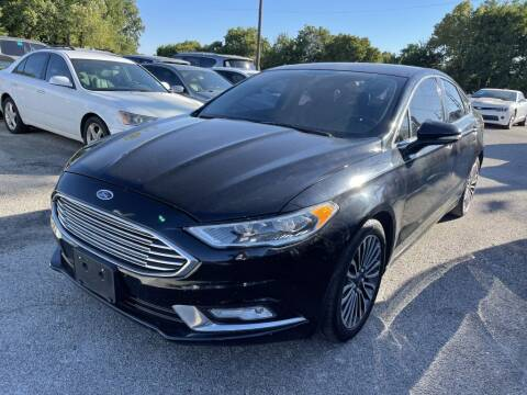 2017 Ford Fusion for sale at Pary's Auto Sales in Garland TX