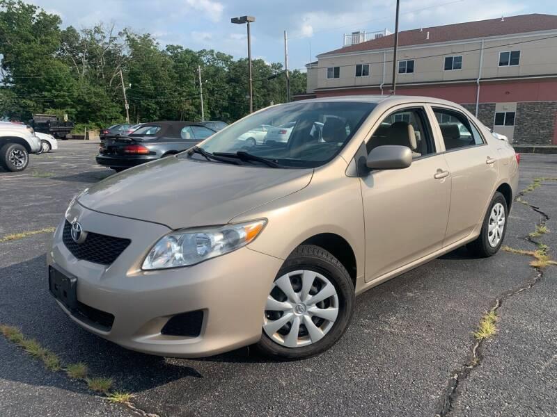 2010 Toyota Corolla for sale at M & J Auto Sales in Attleboro MA