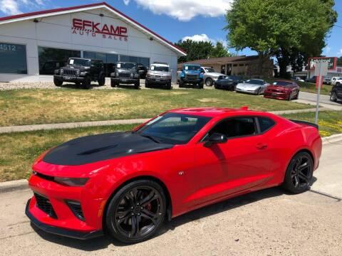 2018 Chevrolet Camaro for sale at Efkamp Auto Sales LLC in Des Moines IA