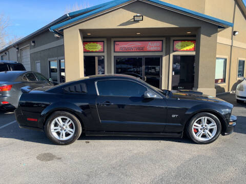 2007 Ford Mustang for sale at Advantage Auto Sales in Garden City ID