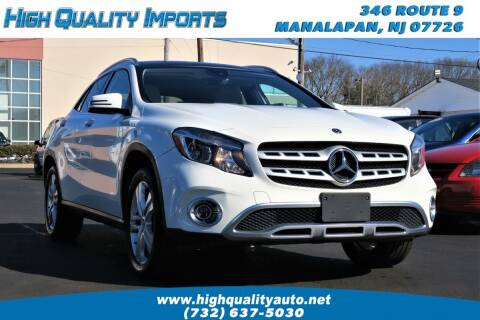 2018 Mercedes-Benz GLA for sale at High Quality Imports in Manalapan NJ