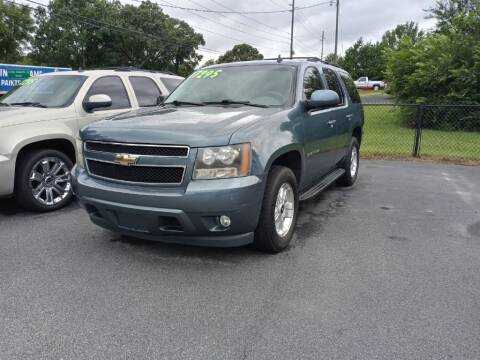 2009 Chevrolet Tahoe for sale at Mathews Used Cars, Inc. in Crawford GA