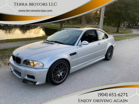 2002 BMW M3 for sale at Terra Motors LLC in Jacksonville FL