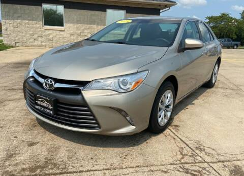 2015 Toyota Camry for sale at Auto House of Bloomington in Bloomington IL