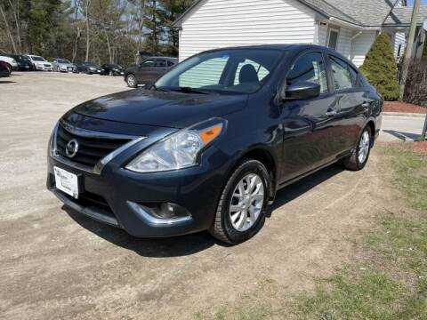 2017 Nissan Versa for sale at Williston Economy Motors in Williston VT