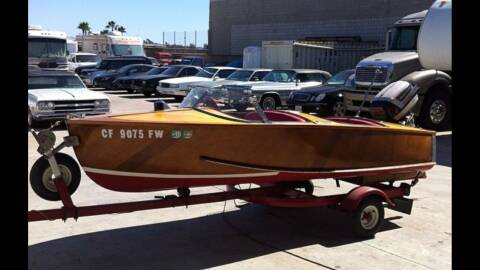 1954 Inland Style Master Wood Boat for sale at HIGH-LINE MOTOR SPORTS in Brea CA