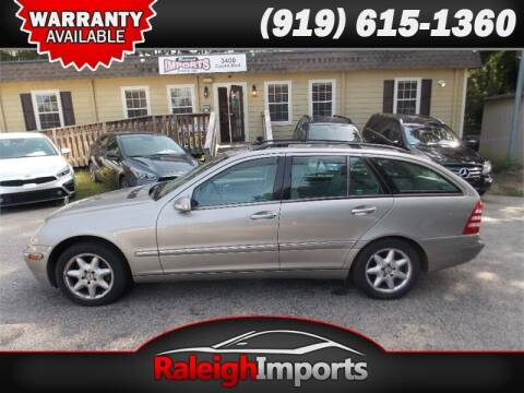 2003 Mercedes-Benz C-Class for sale at Raleigh Imports in Raleigh NC