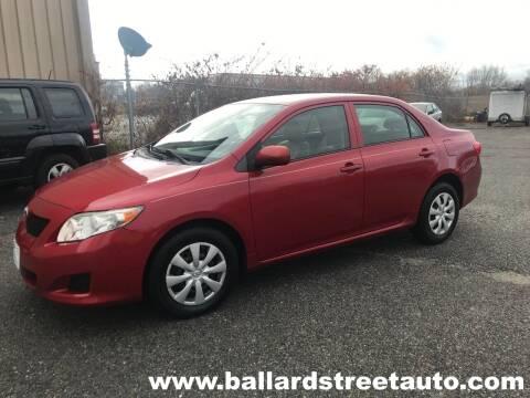2010 Toyota Corolla for sale at Ballard Street Auto in Saugus MA