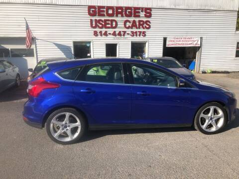 2013 Ford Focus for sale at George's Used Cars Inc in Orbisonia PA