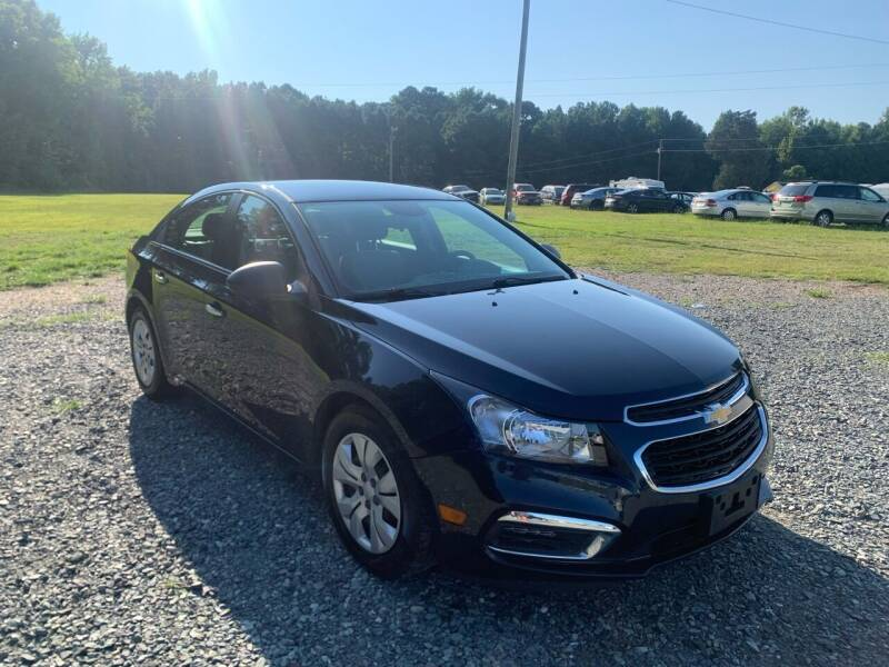 2016 Chevrolet Cruze Limited for sale at Sanford Autopark in Sanford NC
