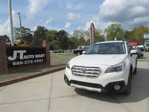 2015 Subaru Outback for sale at J T Auto Group in Sanford NC