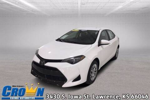 2018 Toyota Corolla for sale at Crown Automotive of Lawrence Kansas in Lawrence KS