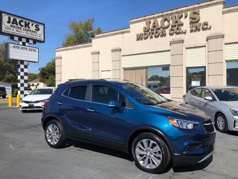 2019 Buick Encore for sale at JACK'S MOTOR COMPANY in Van Buren AR