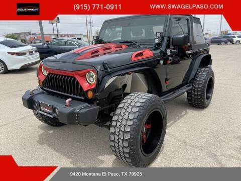 2008 Jeep Wrangler for sale at SOUTHWEST AUTO GROUP-EL PASO in El Paso TX