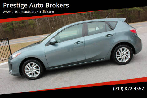 2013 Mazda MAZDA3 for sale at Prestige Auto Brokers in Raleigh NC