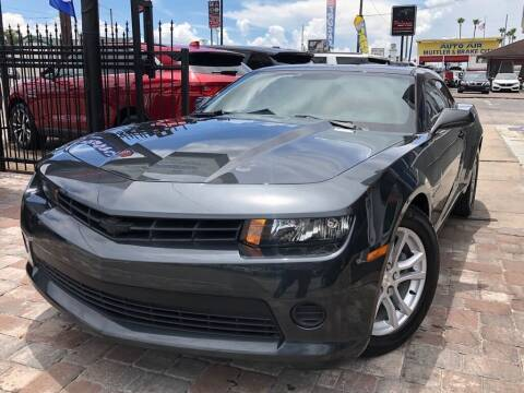 2015 Chevrolet Camaro for sale at Unique Motors of Tampa in Tampa FL