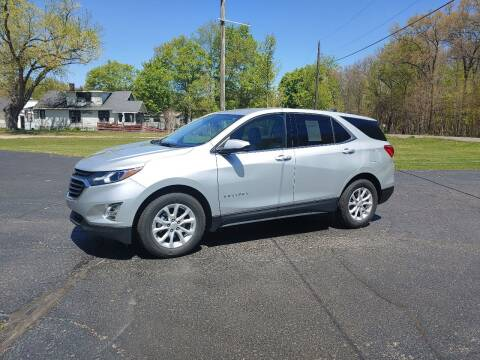 2018 Chevrolet Equinox for sale at Depue Auto Sales Inc in Paw Paw MI