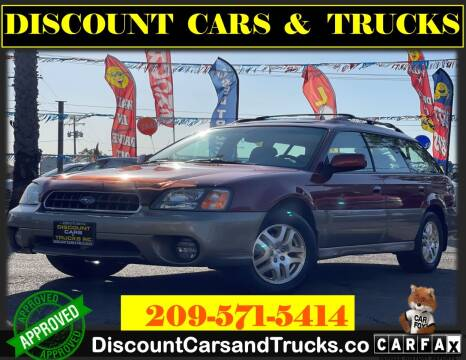 2003 Subaru Outback for sale at Discount Cars & Trucks in Modesto CA