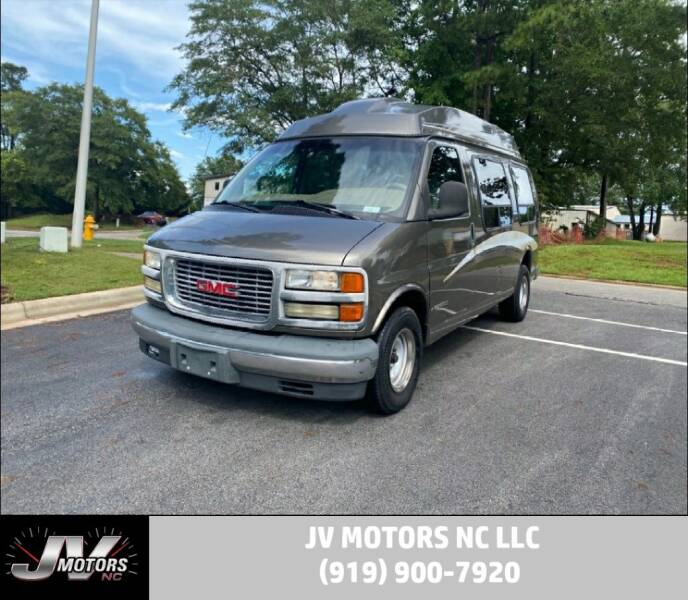 2002 GMC Savana Cargo for sale at JV Motors NC LLC in Raleigh NC
