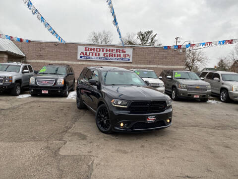 2015 Dodge Durango for sale at Brothers Auto Group in Youngstown OH