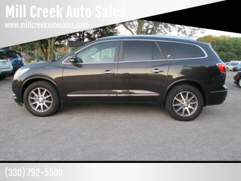 2014 Buick Enclave for sale at Mill Creek Auto Sales in Youngstown OH