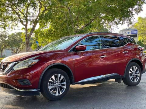 2017 Nissan Murano for sale at HIGH PERFORMANCE MOTORS in Hollywood FL