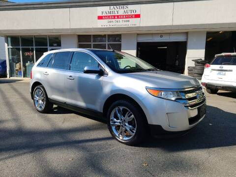 2011 Ford Edge for sale at Landes Family Auto Sales in Attleboro MA