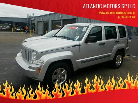 2010 Jeep Liberty for sale at ATLANTIC MOTORS GP LLC in Houston TX
