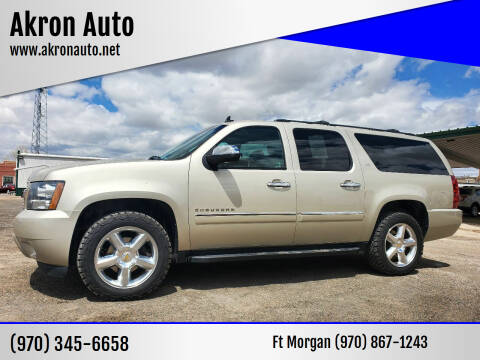2013 Chevrolet Suburban for sale at Akron Auto in Akron CO